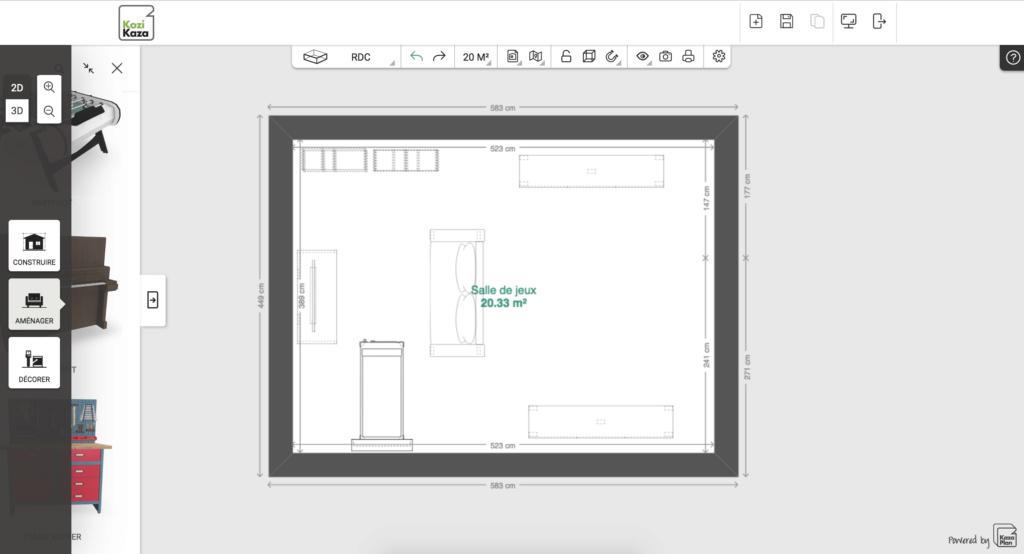 [HELP] Un logiciel pour faire les plans de ma gameroom ? Screen10