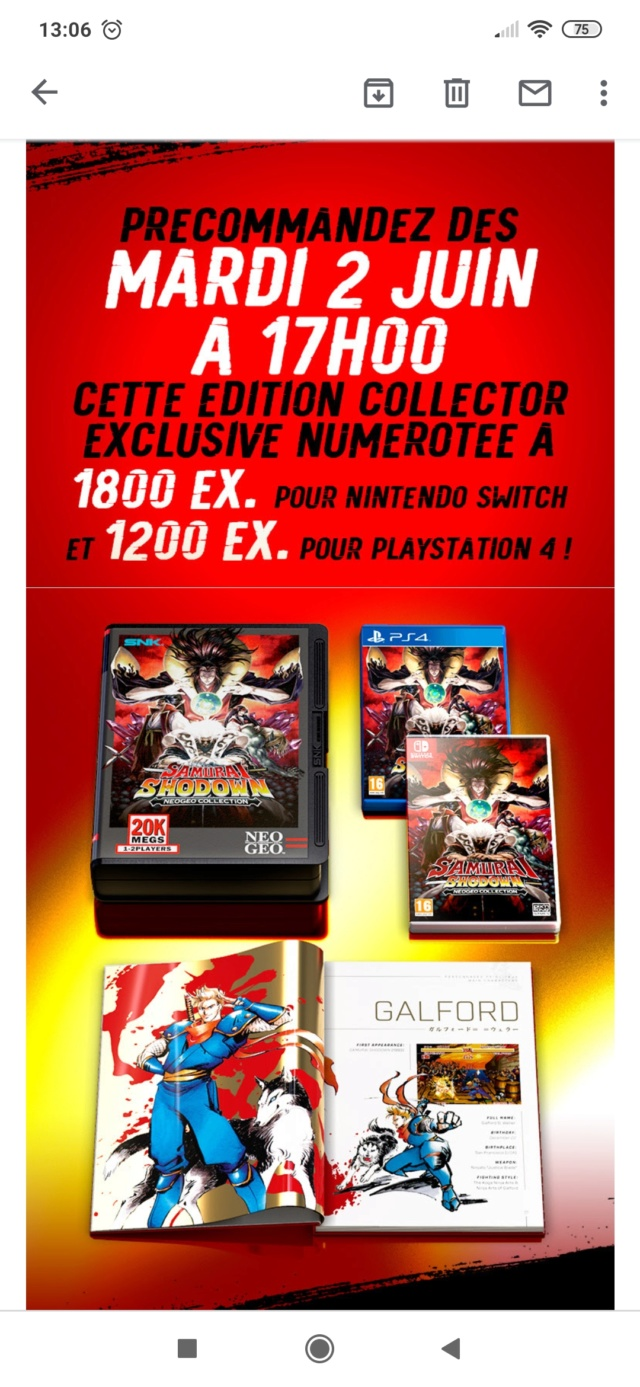 PIX'NLOVE éditera SAMURAI SHODOWN NEOGEO COLLECTION sur PS4 et Switch - Page 2 Screen19