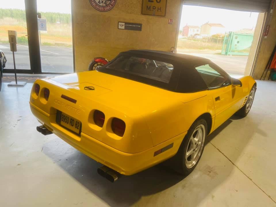 Ma nouvelle corvette , une C4 cabriolet de 1993 15293310