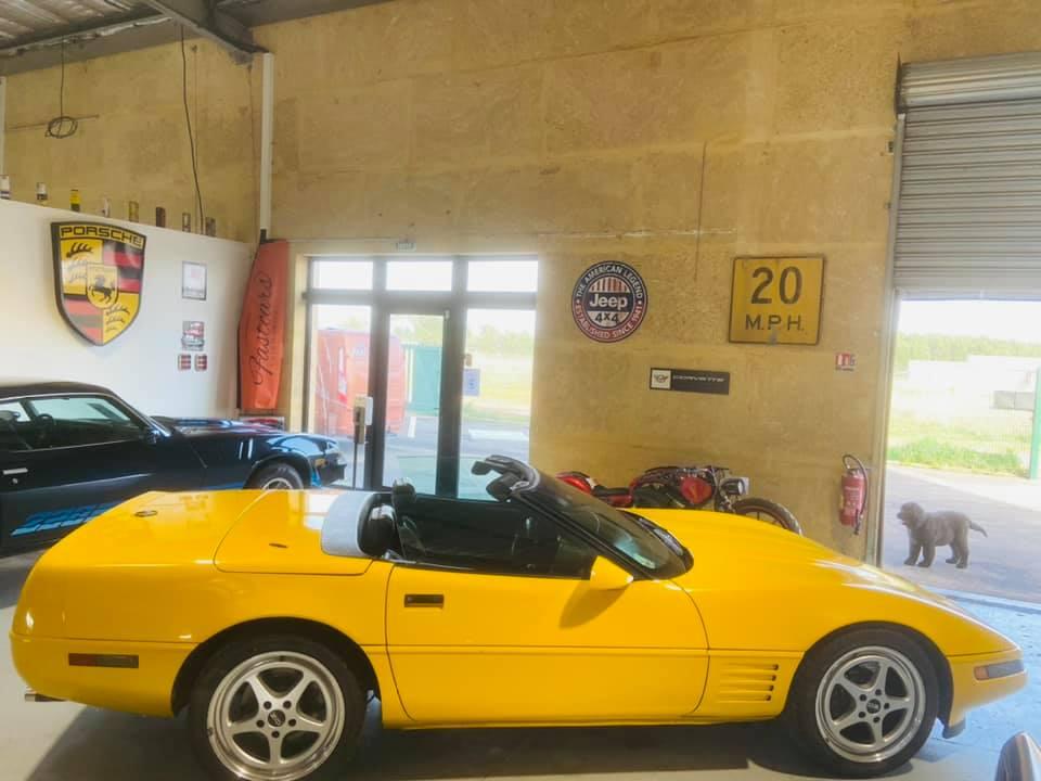 Ma nouvelle corvette , une C4 cabriolet de 1993 15299310