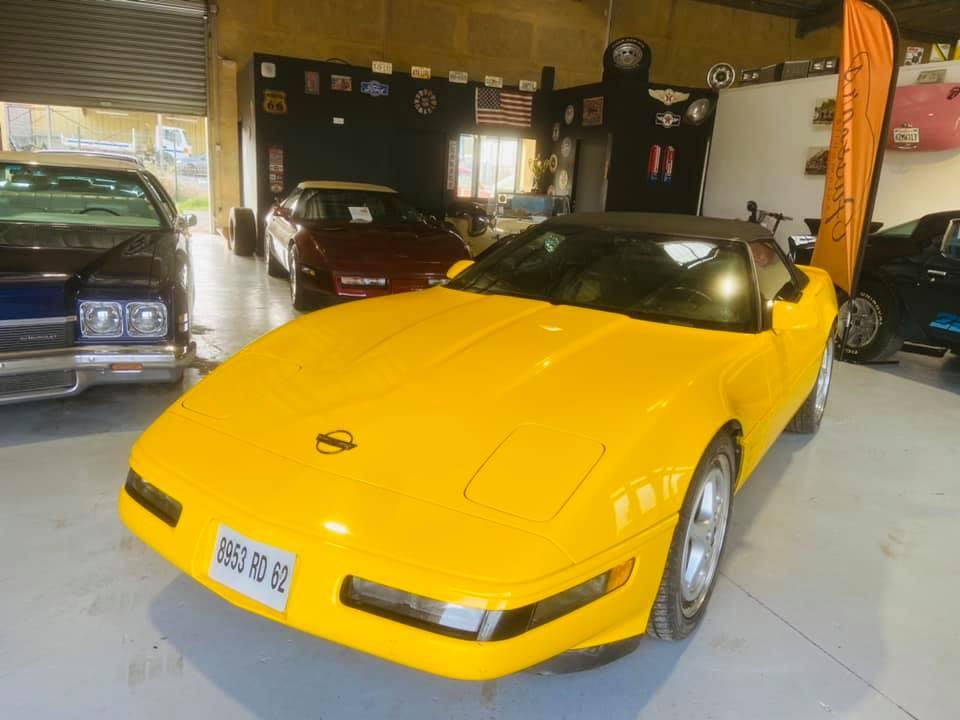 Ma nouvelle corvette , une C4 cabriolet de 1993 15306910