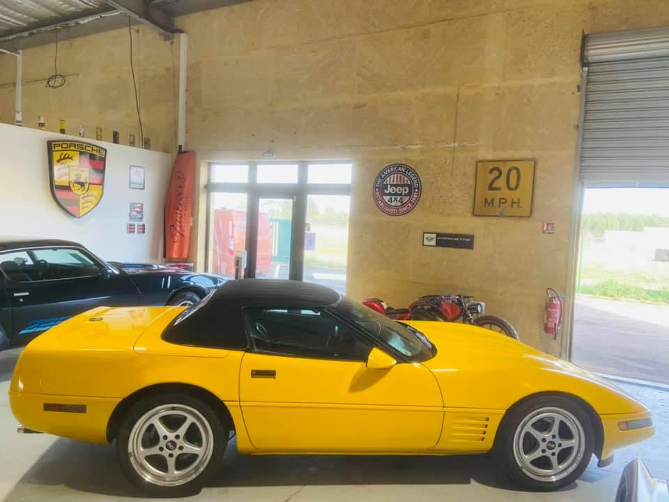 Ma nouvelle corvette , une C4 cabriolet de 1993 15326110