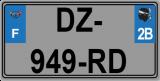 dimensions plaque d'immatriculation avant 1f42e410