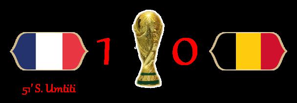 [RISULTATI] Lotteria World Cup - Semifinali   Francia 1-0 Belgio 1-010
