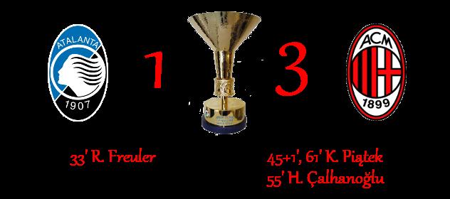 [RISULTATI] Lotteria 90' Minutes | Atalanta 1-3 Milan 1-310
