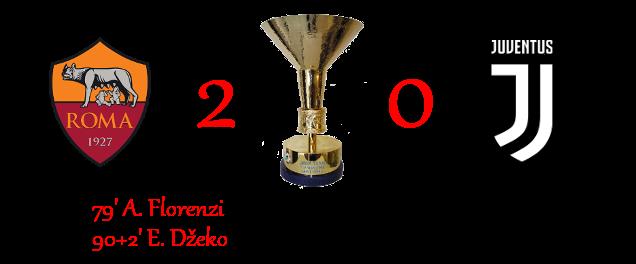 [RISULTATI] Lotteria 90' Minutes | Roma 2-0 Juventus 2-015