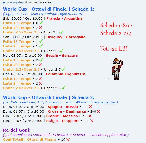 [RISULTATI] FIFA World Cup 2018 | Ottavi di Finale | Vincitori! - Pagina 2 Alien10