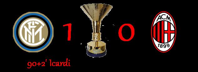 [RISULTATI] Lotteria Derby di Milano | Inter 1-0 Milan Derb11