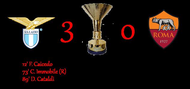[RISULTATI] Lotteria Derby della Capitale | Lazio 3-0 Roma Laz30r11