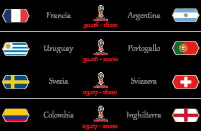 [PRONOSTICI] FIFA World Cup 2018 | Ottavi di Finale Ottavi11