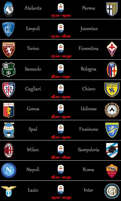 [PRONOSTICI] 10ª Giornata di Serie A + Altre Partite Seriea13