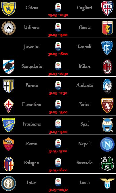 [PRONOSTICI] 29ª Giornata di Serie A + Altre Partite - Pagina 3 Seriea52