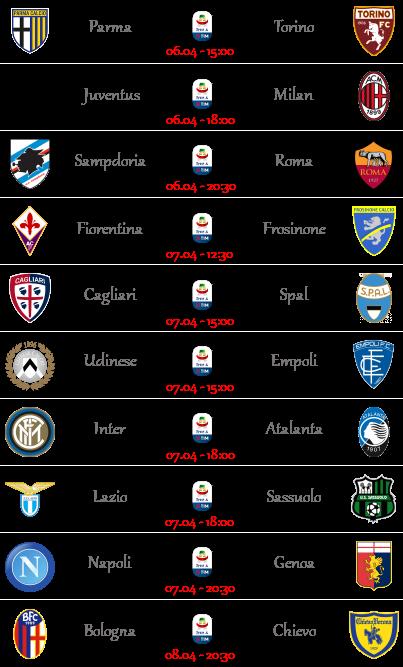 [PRONOSTICI] 31ª Giornata di Serie A + Altre Partite - Pagina 2 Seriea55