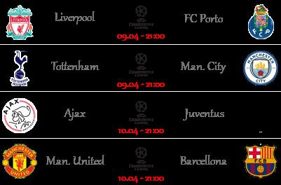 [PRONOSTICI] Andata Quarti | Champions & Europa League Ucl11114