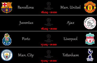 [PRONOSTICI] Ritorno Quarti | Champions & Europa League - Pagina 4 Ucl219