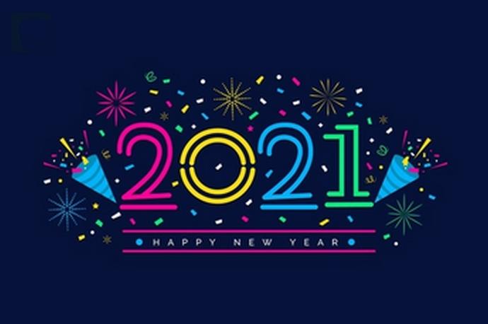 Bonne Année 2021 Annee210
