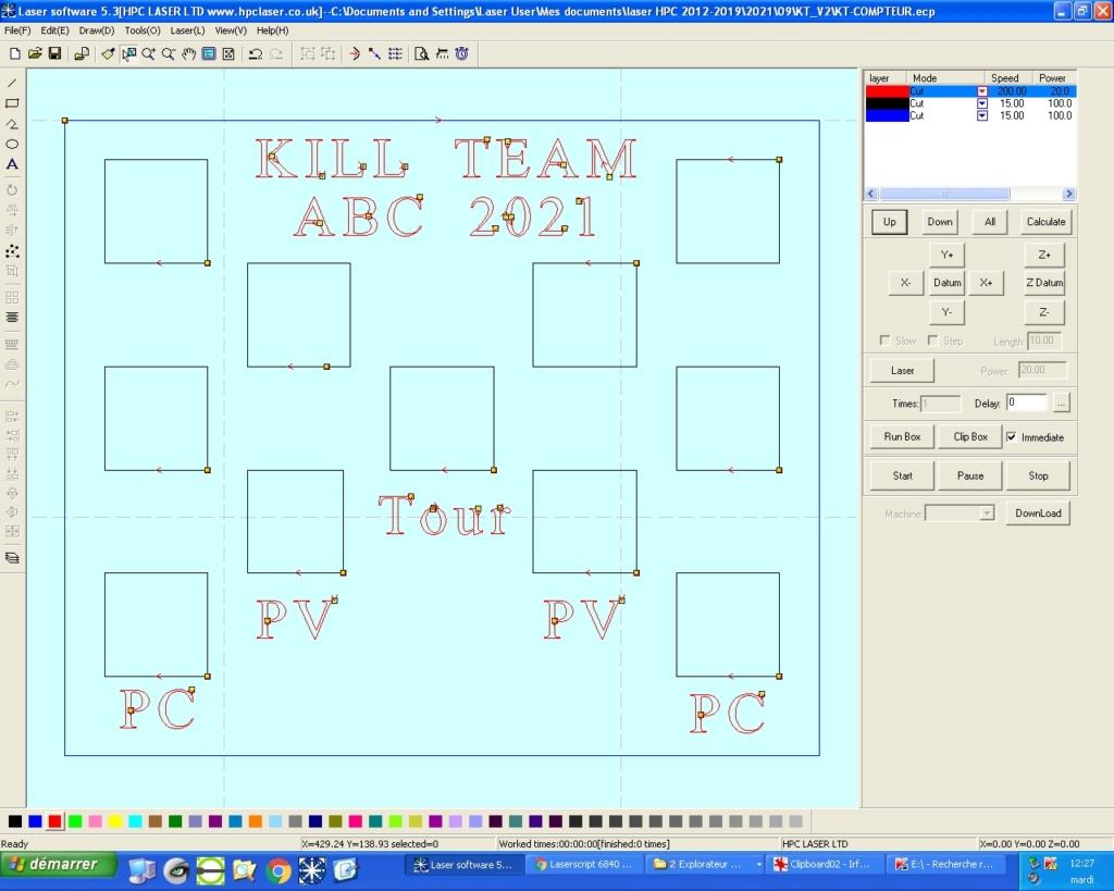 Un compteur pour Kill TEAM Kt-com10