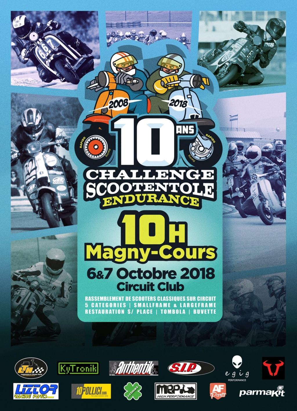 6./7. Octobre équipe de Bella retour à 10 heures de Scooter course à Magny Cours Magny-10