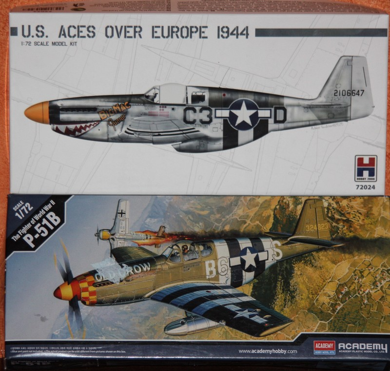 P 51 B/C 1/72 HOBBY 2000 et ACADEMY  Img_0927