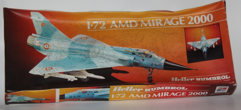 MIRAGE 2000 HELLER 1/72 Img_0952