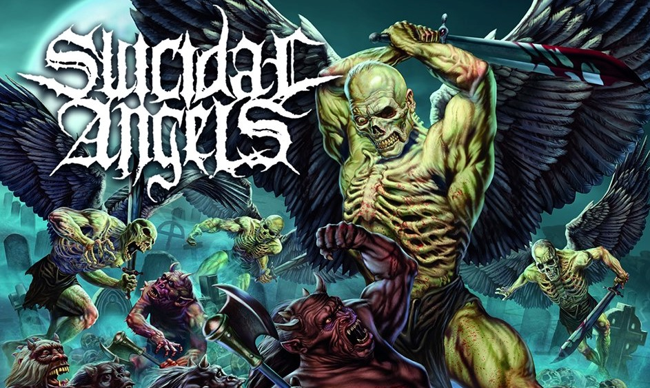 SUICIDAL ANGELS | Years Of Agression (2019) 6o02ky10