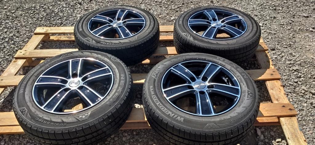 (VENDUE) Jantes T5 homologuées 16 pouces x 6.5 - ET51 + pneus neige Img_2013