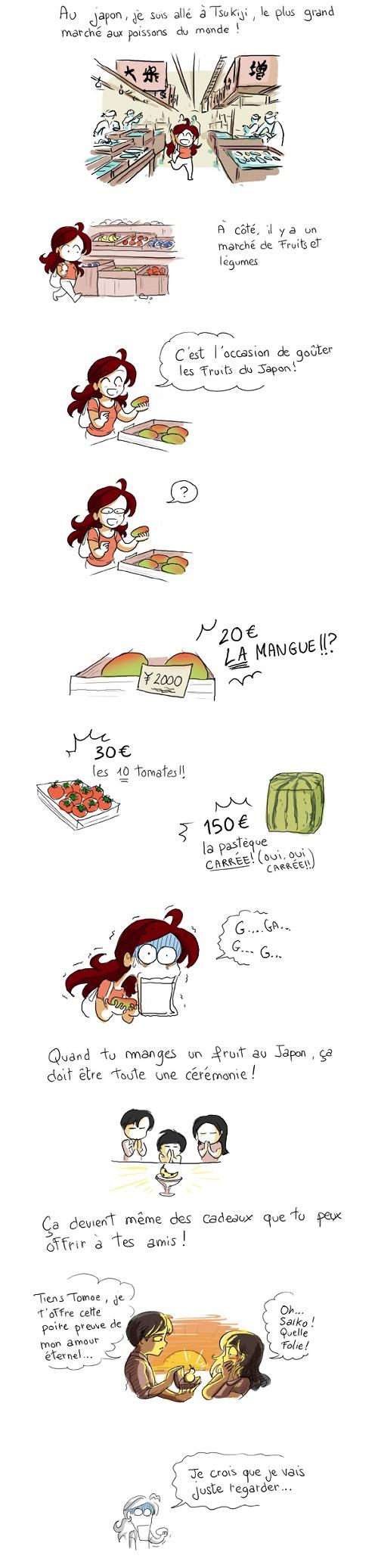 Pour les passionnés de culture japonaise Fruits11