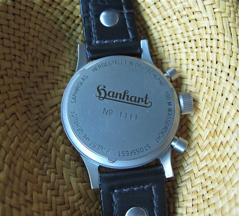 Vos montres en édition limitée et numérotée Hanhar14