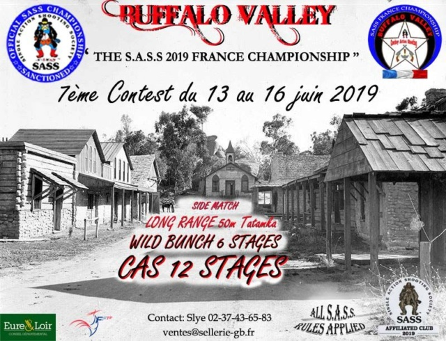 BUFFALO VALLEY 2019 (bulletin d'inscription) Affich12