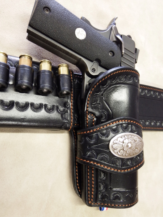 """ WILD BUNCH ""holster ""RANGER'S"" by SLYE  Dscf1414"