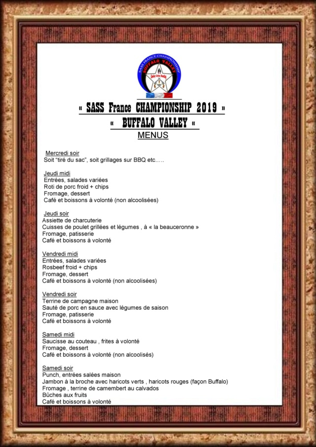 BUFFALO VALLEY 2019 (bulletin d'inscription) - Page 2 Menu_e10