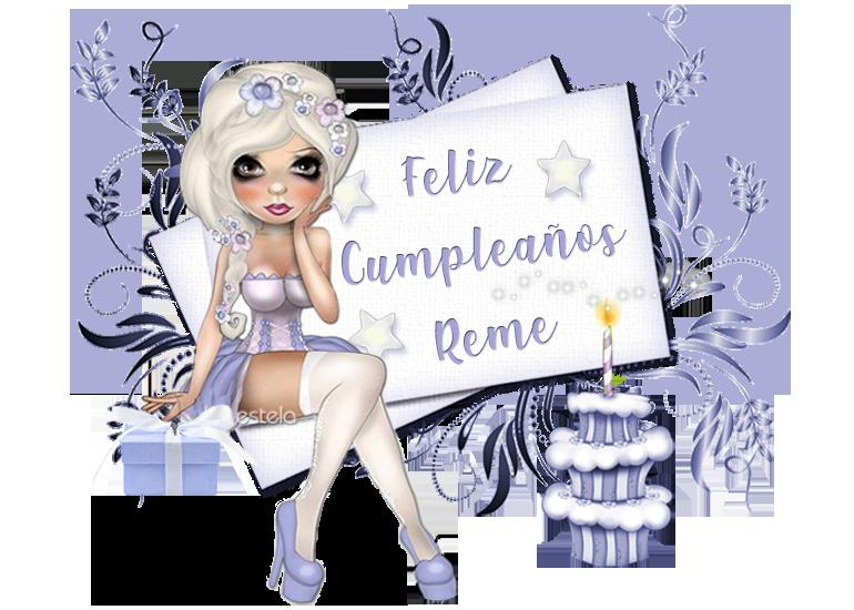 FELIZ CUMPLEAÑOS REME/24/ DICIEMBRE / 2019 Reme2010