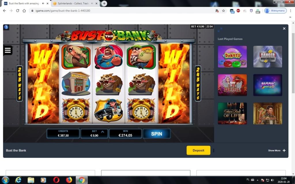 Screenshoty naszych wygranych (minimum 200zł - 50 euro) - kasyno - Page 38 Bank_i10