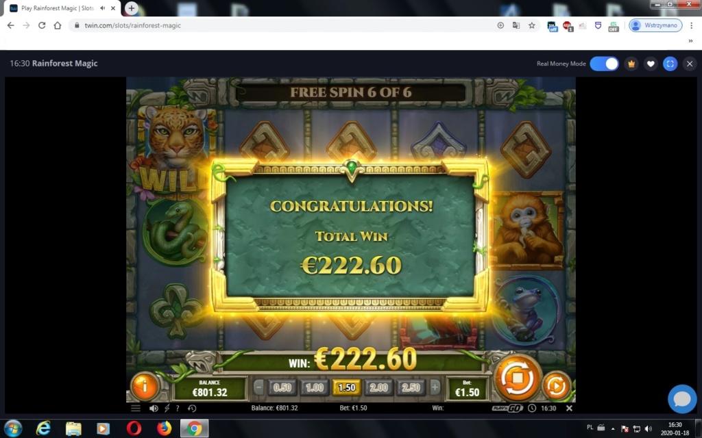 Screenshoty naszych wygranych (minimum 200zł - 50 euro) - kasyno - Page 38 Forest10