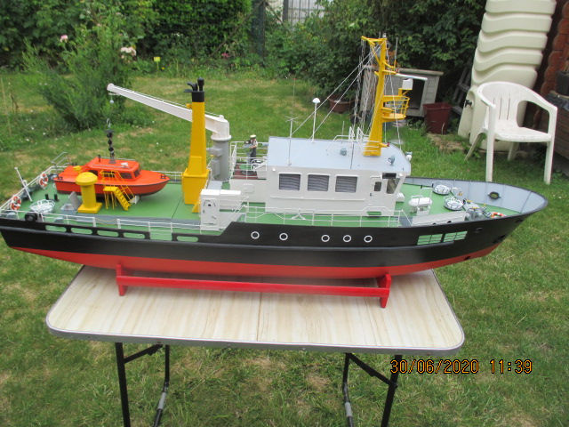Navire de sauvetage Norderney (Robbe 1/25°) de domino59 Img_1631
