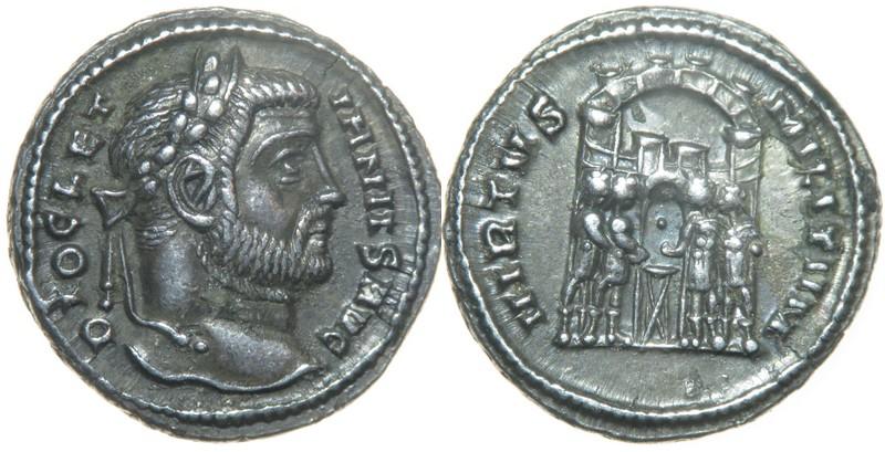 Argentei de la réforme de Dioclétien, que sont-ils devenus? Argent11