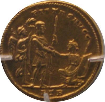 Médaillon de bronze URBS ROMA Img_9811