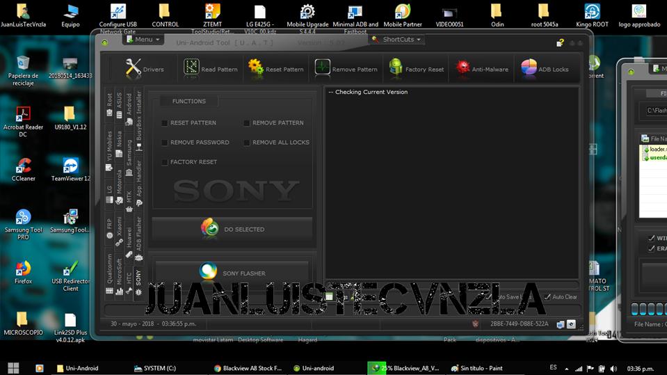 Quitar Patron o Codigo de Bloqueo Sony Z1 C69xx  Diapos10