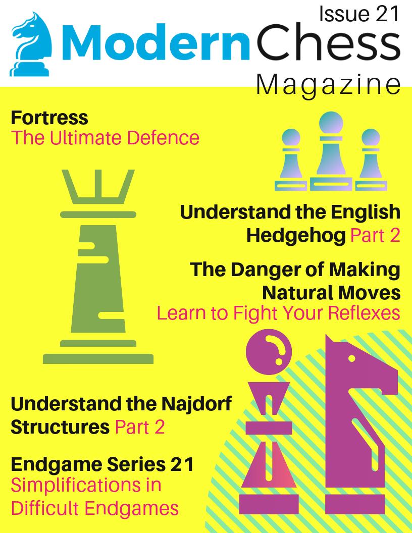 Modern Chess Magazine 21 Mcm2110