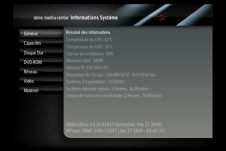 [VENDU] xbox xbmc soft mod 500g ide Screen11
