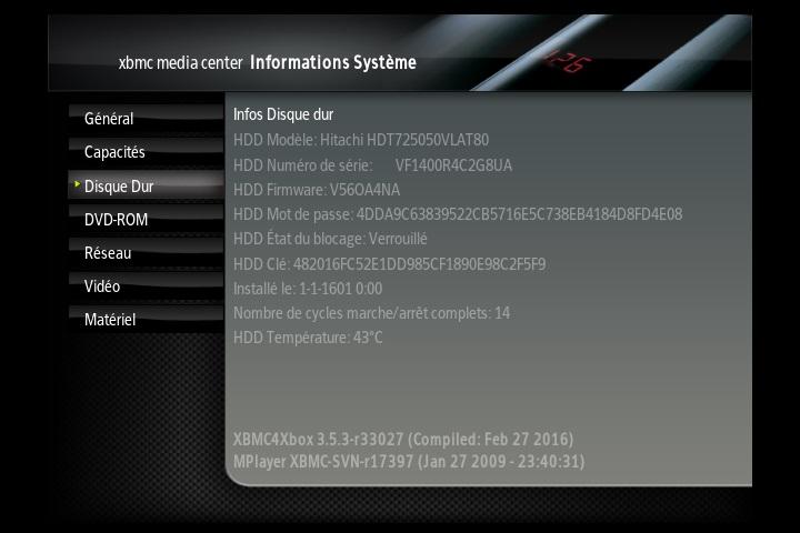 [VENDU] xbox xbmc soft mod 500g ide Screen12