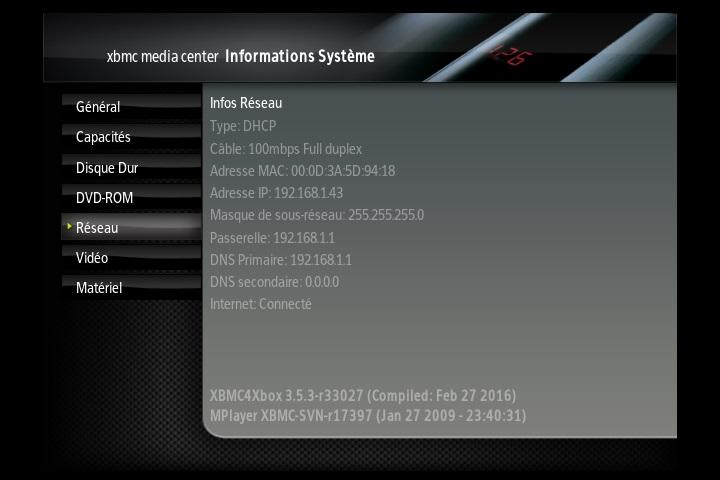 [VENDU] xbox xbmc soft mod 500g ide Screen16