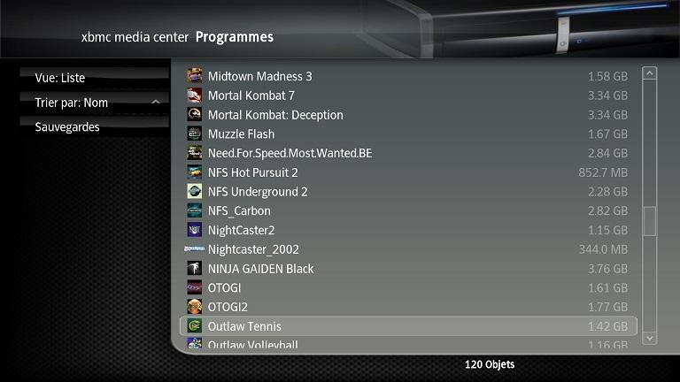 [VENDU] xbox xbmc soft mod 500g ide Screen26