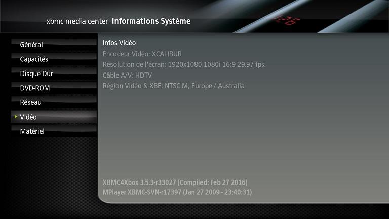 [VENDU] xbox xbmc soft mod 500g ide Screen29