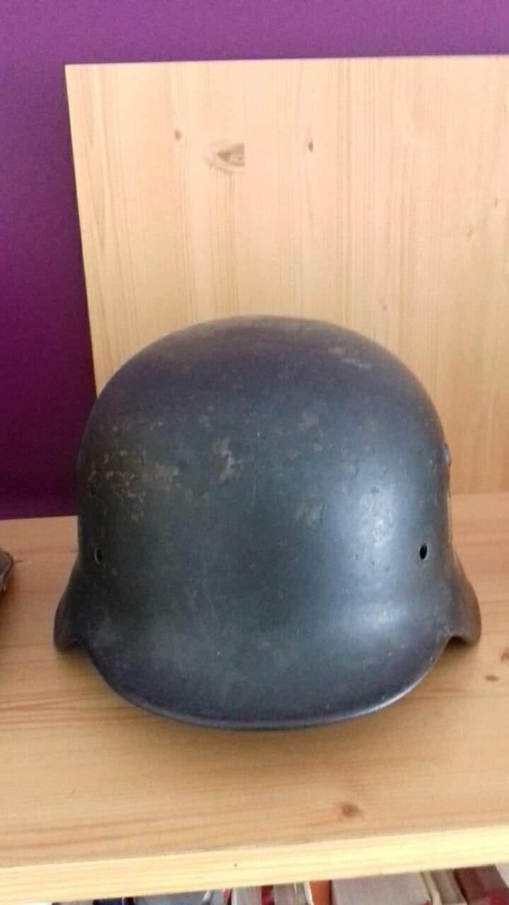 Stahlhelm avec insigne originale ? Receiv15