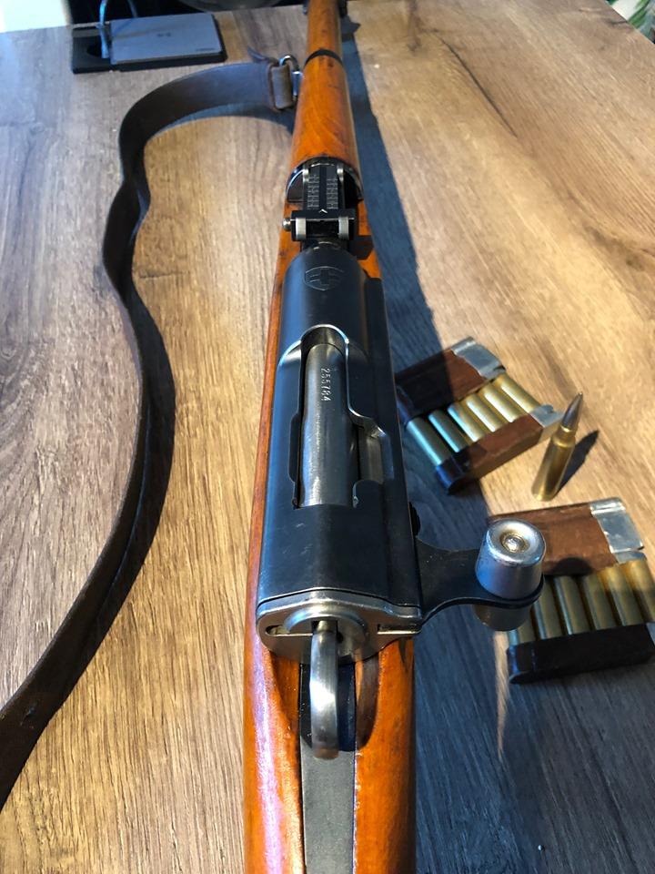 Mon Schmidt Rubin K31 de 1956 68832612