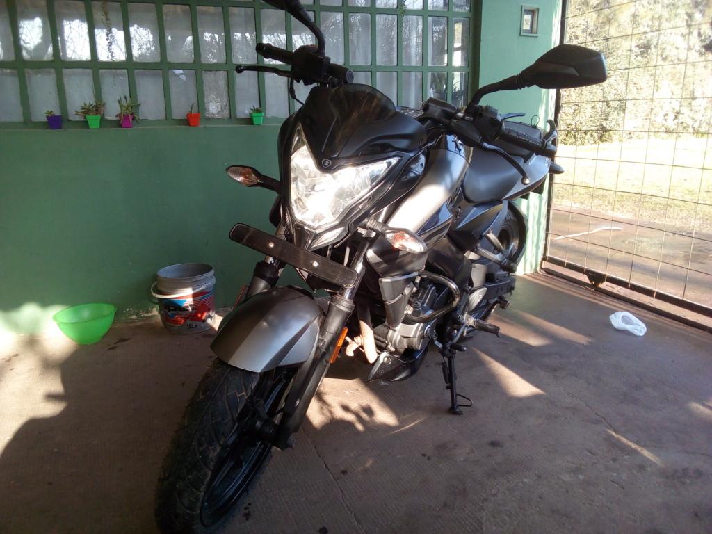 VENDO 200NS Mod 2017, 46mil kms, $190000 Moto_b12