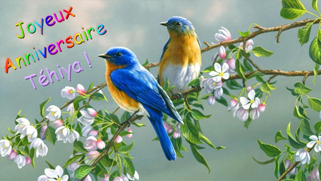 Joyeux anniversaire Téhiya Oiseau10