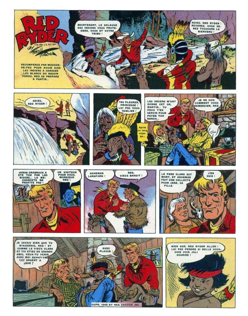 9ème Art, musée de la bande dessinée par Morris et Vankeer - Page 9 1127