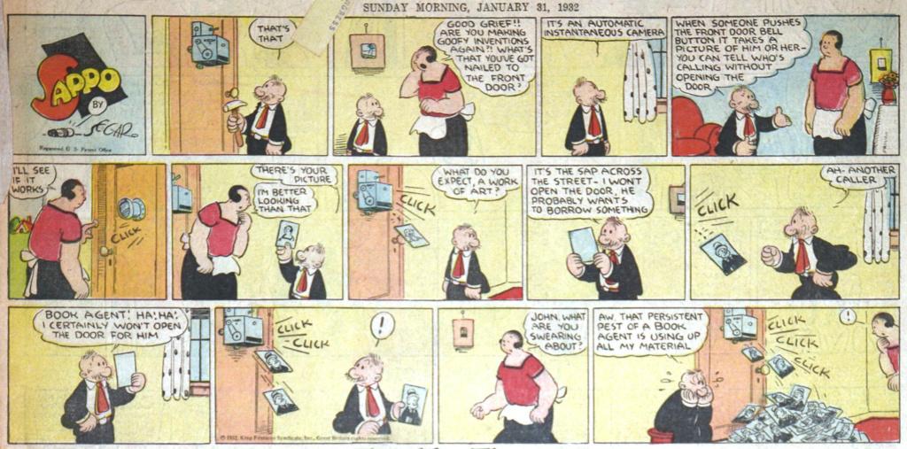 9ème Art, musée de la bande dessinée par Morris et Vankeer - Page 18 1932-010